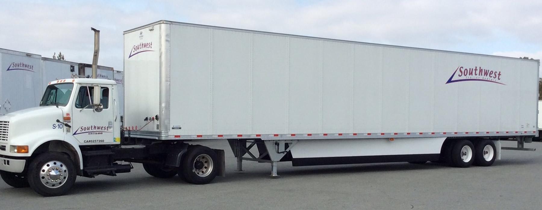 southwest trailer full rig